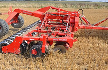 Stubble equipment